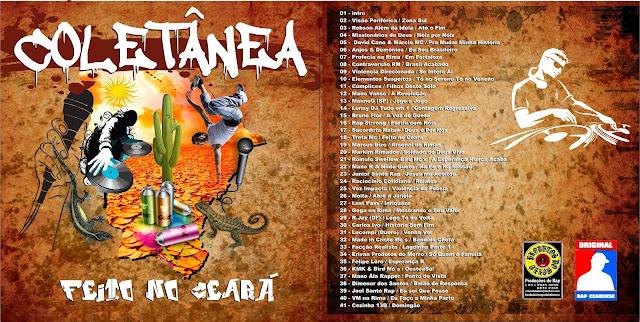 Coletânea de Rap reúne 40 grupos e será lançada em Fortaleza