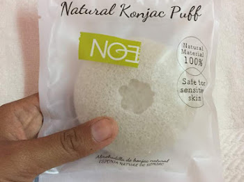 Natural Konjac Puff Sponge Review