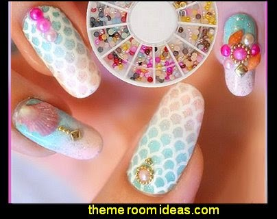 Round 3D Rhinestones Nail Art Decoration