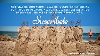 Noticias de educacion, ideas de juegos, experiencias con tipos de pedagogias, consejos a madres, enlaces educactivos