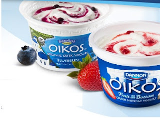 Live Healthy with Dannon Oikos Greek Yogurt