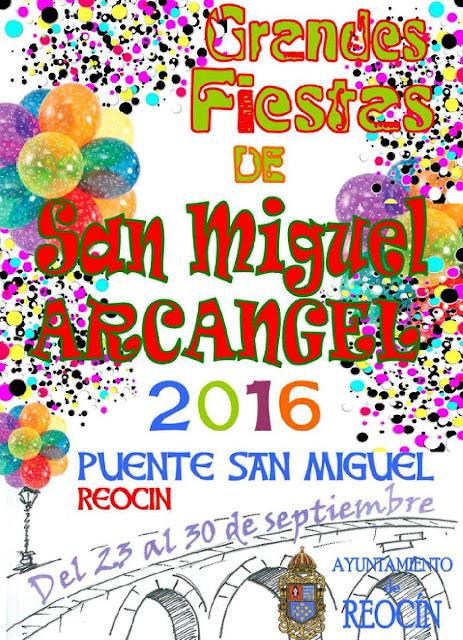 Fiestas de San Miguel 2016 en Reoc�n