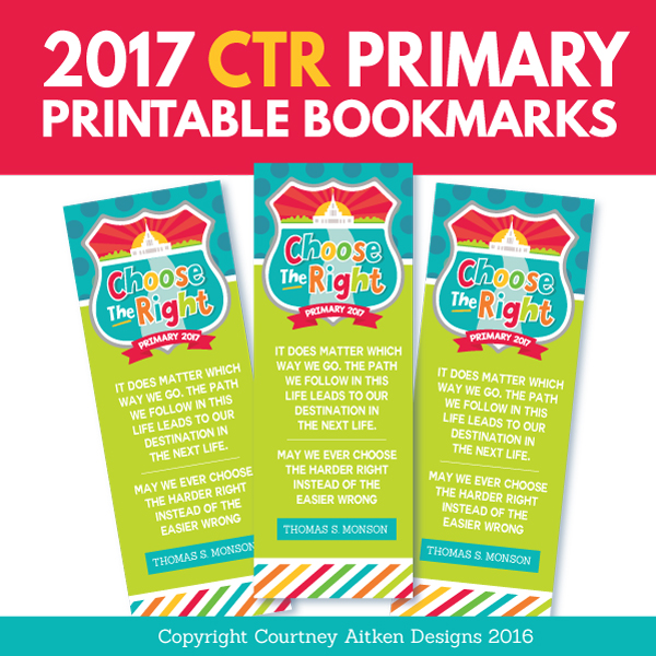 All Things Bright and Beautiful: 2017 Free Primary Printables ...
