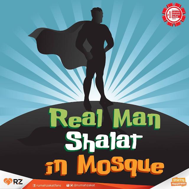 Lelaki Itu Shalatnya di Masjid