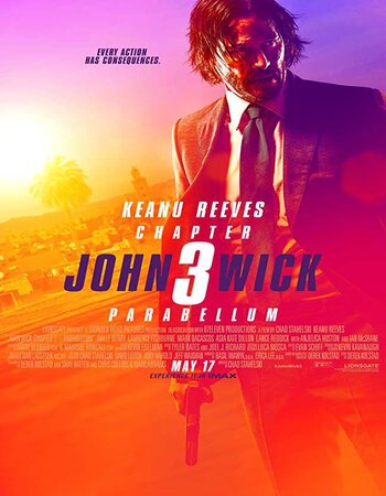 John Wick 3 (2019) English 480p HDRip x264 400MB Hindi Subs Movie Download