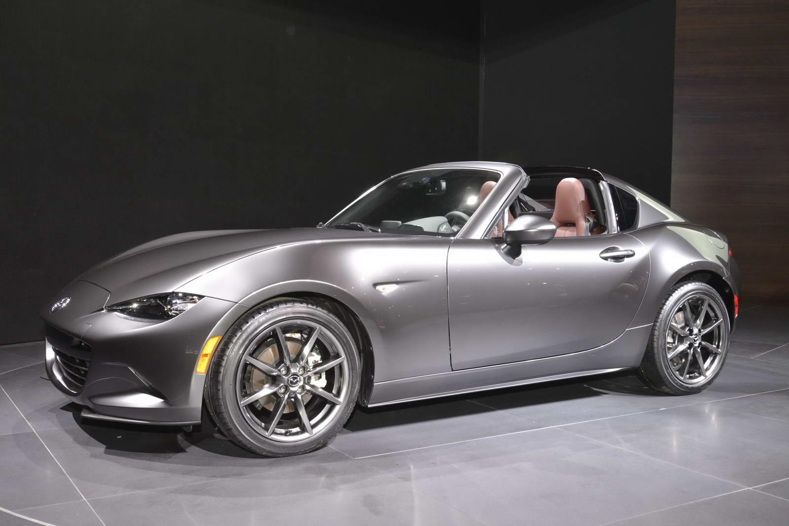 Mazda MX-5 2017 là ngôi sao sáng tại New York Auto Show năm nay