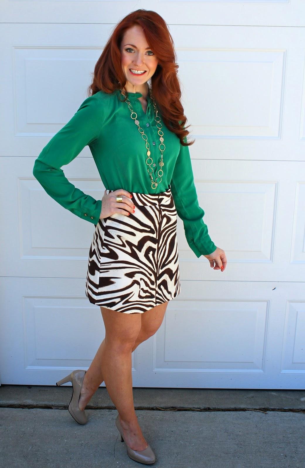 Mature short skirt