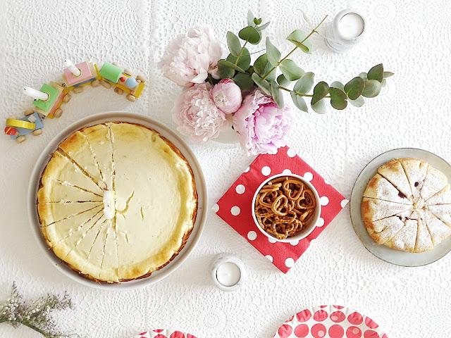 Cremiger Käsekuchen ohne Boden | Saftiger Rührkuchen mit Mango und Himbeeren | 12 Nachmach-Tipps und DIY-Ideen im Juni | www.mammilade.blogspot.de