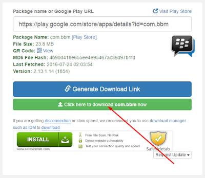 Cara Cepat Download APK di Google Play dari Komputer PC 3