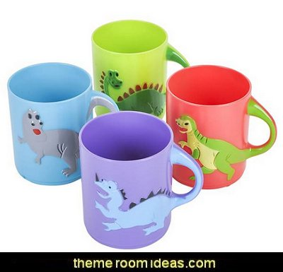 Dinosaur Mugs  Dinosaur birthday party Supplies - dinosaur party decorations - Dinosaur Party Theme - dinosaur party decoration ideas - Dinosaur Dino Party Decoration Supplies - Prehistoric Dinosaur Party - Dinosaur Theme Kids Birthday Party Decoration