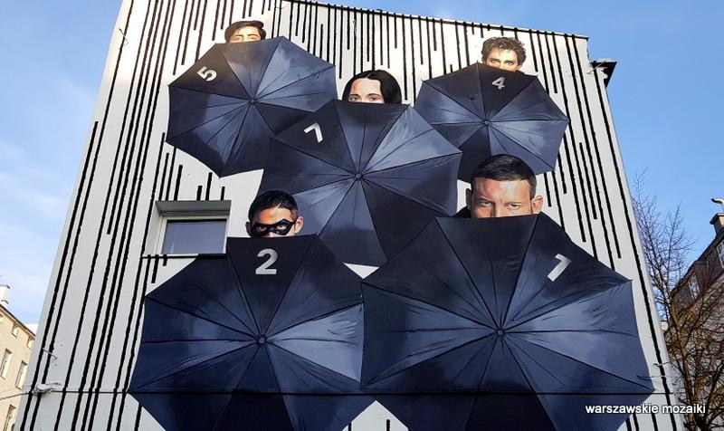 warsaw mural warszawskie murale street art graffiti ściana serial netflix warszawa nowy świat