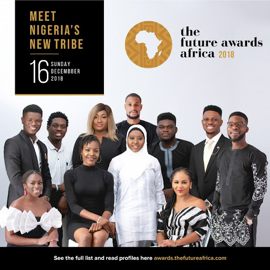 Ahmed Musa, Davido, Bisola Aiyeola, Maraji make The Future Awards Africa 2018 Nominees list in #NigeriasNewTribe: