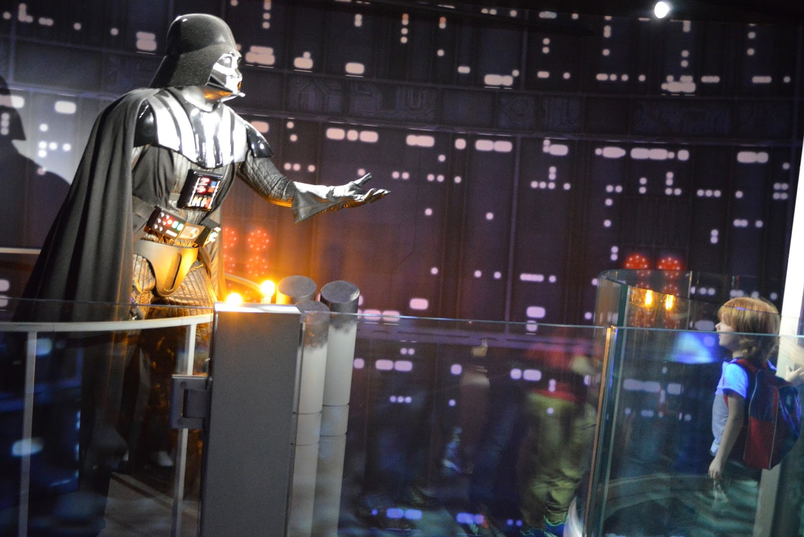 5 ways to feed your family's Star Wars obsession - Darth Vader at Madame Tussayds London