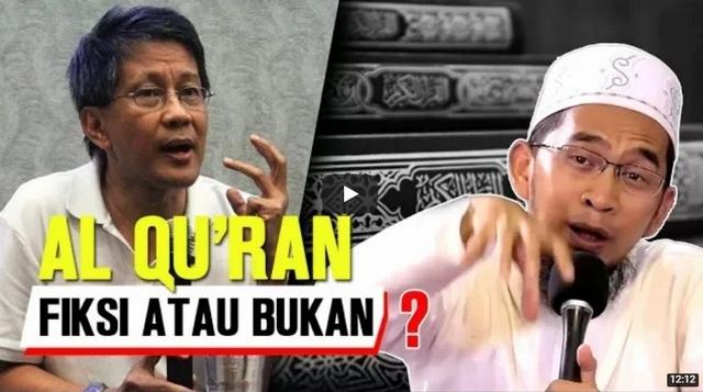 Al Qur'an Fiksi atau Bukan? Paparan Ustadz Adi Hidayat ini Logis & Clear