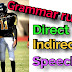 Direct and indirect speech- part 1