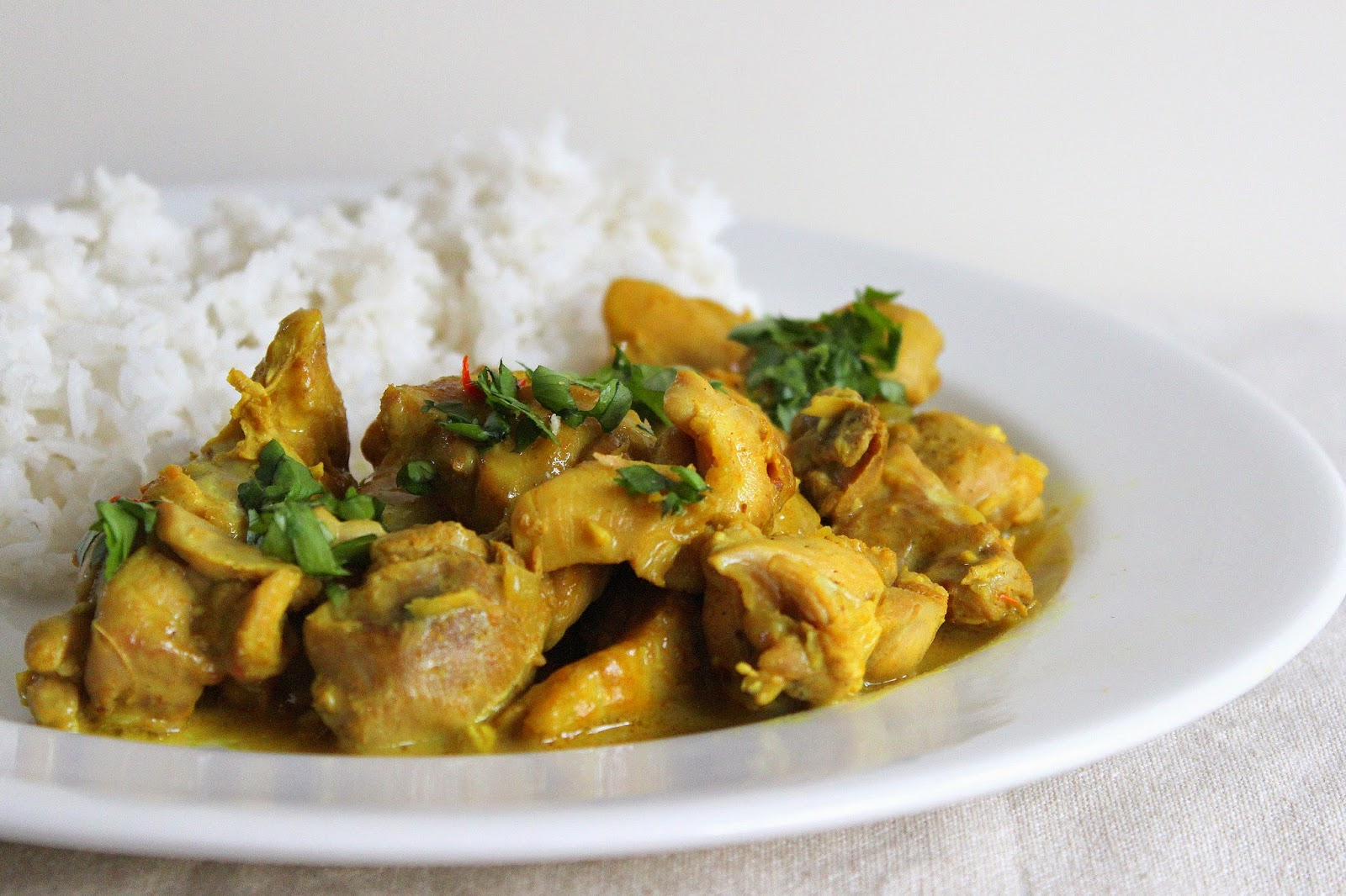 PicNic: Coconut Chicken Curry