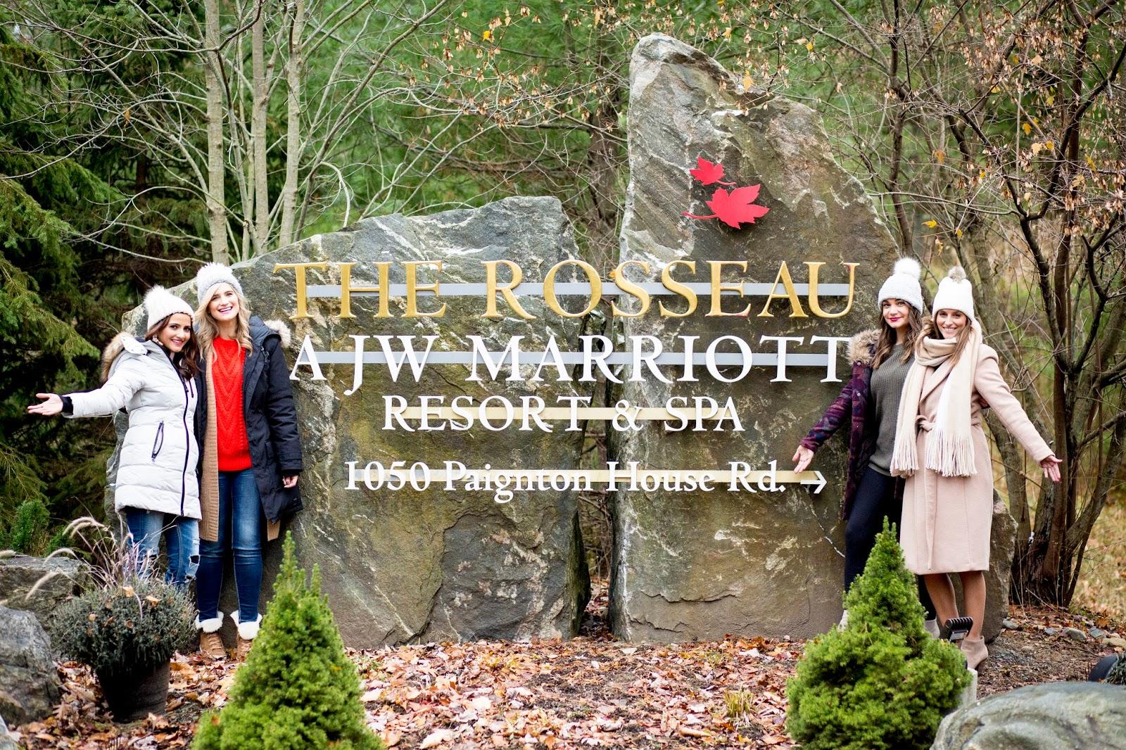 Bijuleni - Girls Weekend In JW Marriott The Rosseau Muskoka