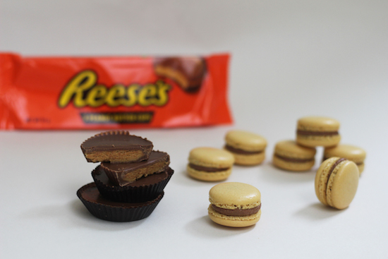 reece's peanut macarons recipe uk