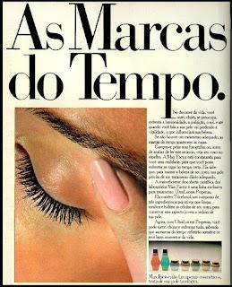 propaganda cosméticos Max Factor - 1978; moda anos 70; propaganda anos 70; história da década de 70; reclames anos 70; brazil in the 70s; Oswaldo Hernandez