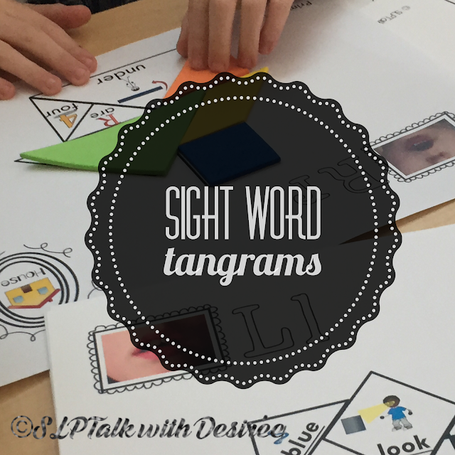 Sight Word Tangrams