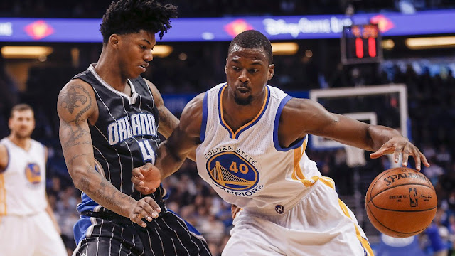Elfrid Payton, Orlando Magic & Harrison Barnes, Golden State Warriors