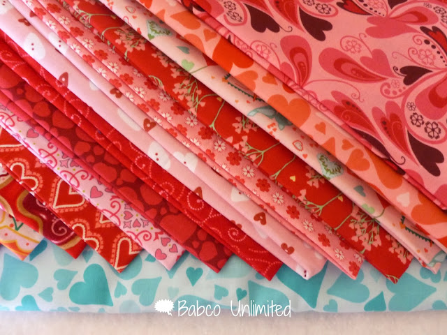BabcoUnlimited.blogspot.com - Valentine Heart Quilt