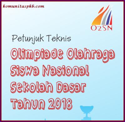 Juknis O2SN SD Tahun 2018