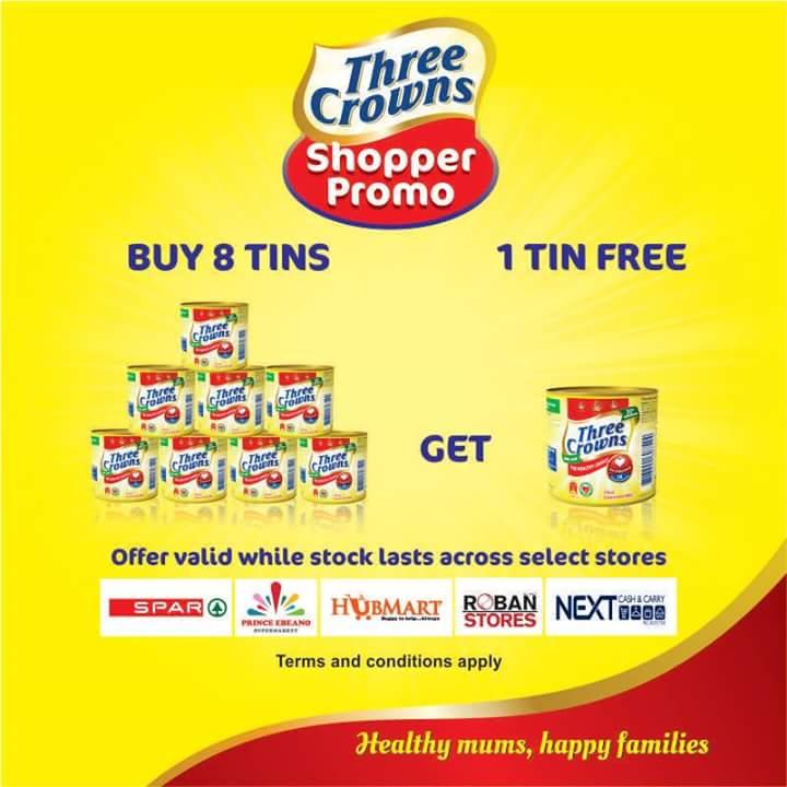 Three%252B-%252BCrown%252BNigeria%252Bpromos Win Extra Tins of  milk at three crowns shoppers promos