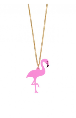 The Best Jewellery Buys from the High Street this SS16 - Tatty Devine - Flamingo Necklace - £25.00