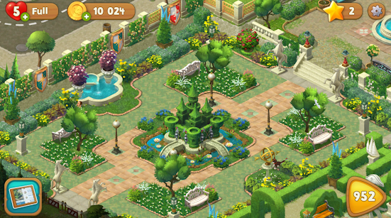Gardenscapes v2.4.2 Mod Apk Terbaru (Unlimited Coins)