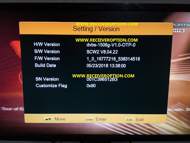 ECHOLINK FREEDOM-507 HD RECEIVER POWERVU KEY NEW SOFTWARE