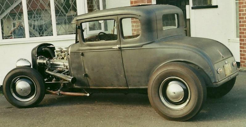 247 Autoholic George S 1930 Ford Coupe Hot Rod
