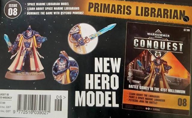 Psíquico Primaris Warhammer 40,000 Conquest