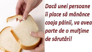 Superstitii coaja paine