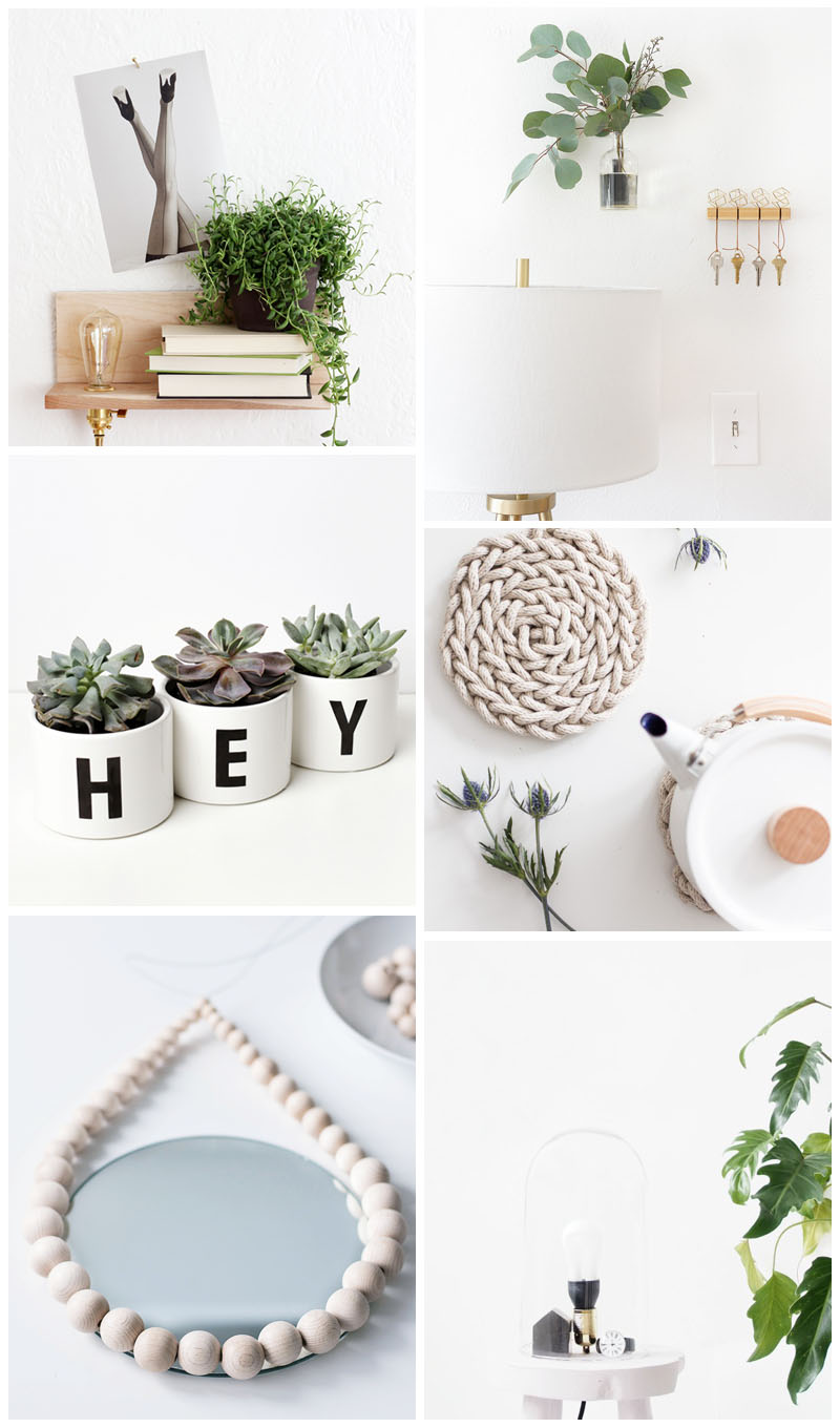 scandi DIY home decor tutorials