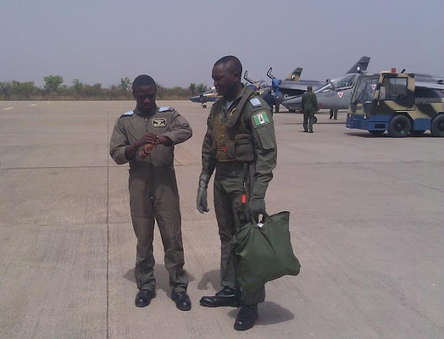 nigerian pilots killed in fighter jet crash