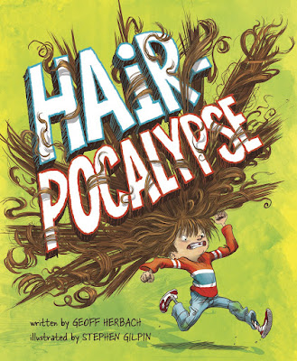 Hair-pocalypse - Aiden Allen is a grubby kid and his hair is angry with him. It simply won't behave. His hair throws a hair brush, knocks over his cereal, ties itself into bows on the school bus, and just keeps acting out. After a long day at school, Aiden Allen finally decides to reason with his hair and come to an understanding together.