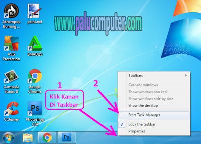 membuka task manager di windows 7