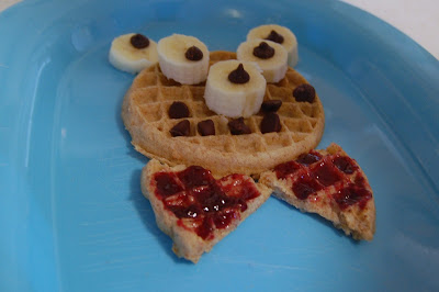 Kids Cooking: Waffle Bear Breakfast