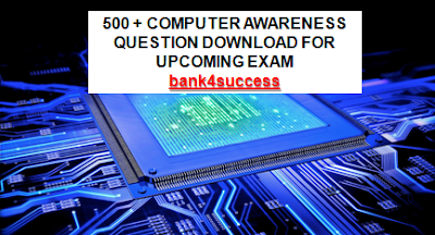 500+ Computer Awareness Questions PDF Free Download for IBPS RRB PO, NIACL Assistant, IBPS RRB Assistant Exam