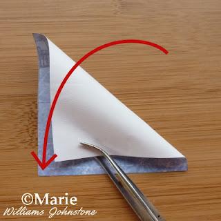 Diagonal folded