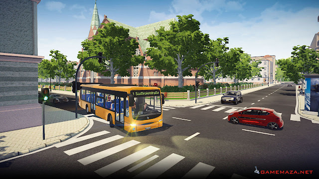 Bus Simulator 16 Gameplay Screenshot 3