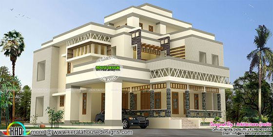 4850 sq-ft modern and stylish house plan