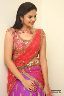 Sri Mukhi Latest Stills at Aatadukundam Raa Movie Audio Launch