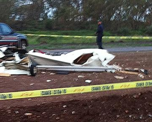 Kathryn's Report: Aeroprakt A-22 Foxbat, ZU-EFH: Accident occurred