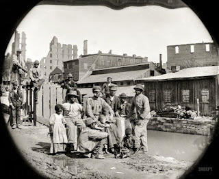 "Family of ""freedmen\"", Richmond, VA, 1865"