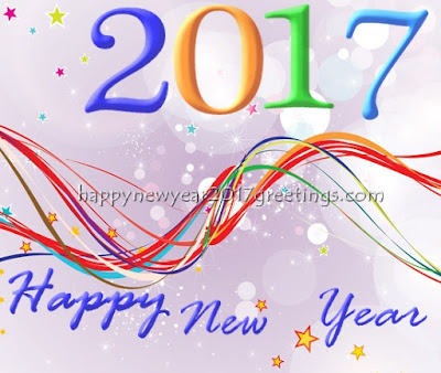 Happy New Year 2017 Beautiful Greetings Cards