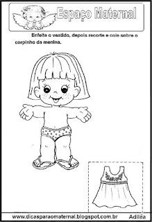 Atividades sobre o corpo humano maternal