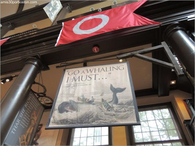 Moby Dick en el New Bedford Whaling Museum