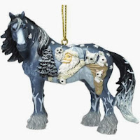 My Top Five Horse Christmas Tree Ornaments | Themed Christmas ...